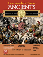 Commands & Colors: Ancients Expansion Pack #5: Epic Ancients II - obrázek