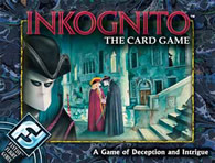 Inkognito: The Card Game - obrázek