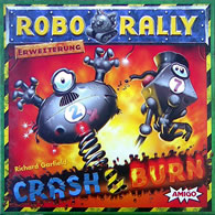 RoboRally - Crash and Burn - obrázek