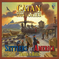 Catan Histories: Settlers of America Trails to Rails - obrázek
