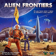Alien Frontiers(4.ed) + Factions + Outer Belt (cz)