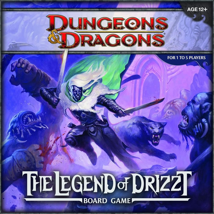 Dungeons & Dragons: Legend of Drizzt Board Game - obrázek