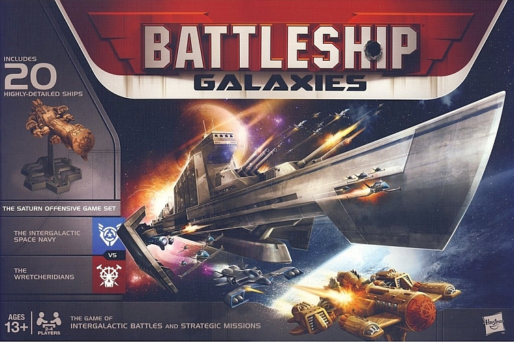 Battleship Galaxies: The Saturn Offensive Game Set - obrázek