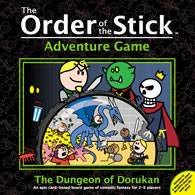 Order of the Stick Adventure Game: The Dungeon of Dorukan - obrázek