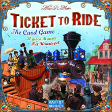 Ticket to ride: karetní hra