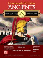 Commands & Colors: Ancients Expansion Pack #6: The Spartan Army - obrázek