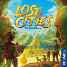 Lost Cities: The Board Game - obrázek