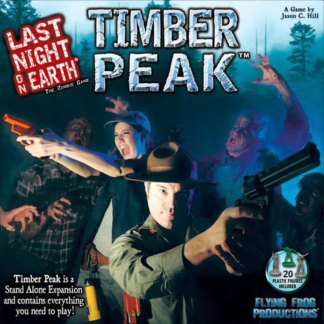 Last Night On Earth: Timber Peak - obrázek