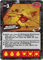 Quarriors! Quarmageddon Multiplying Mischievous Imp Promo Card - obrázek
