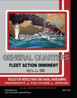 Fleet Action Imminent! General Quarters WWI Rules - obrázek