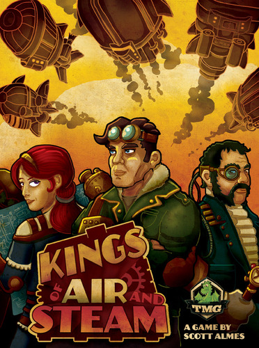 Kings of Air and Steam - obrázek