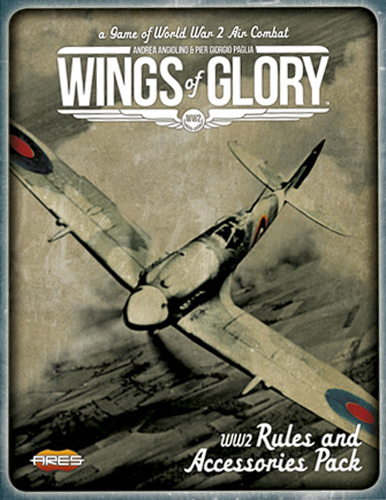 Wings of Glory: WW2 Rules and Accessories Pack - obrázek