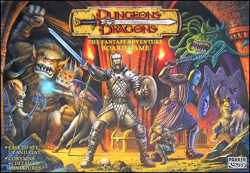 Dungeons & Dragons: The Fantasy Adventure Board Game - obrázek