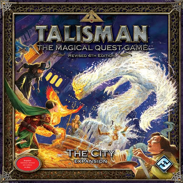 Talisman (fourth edition): The City - obrázek