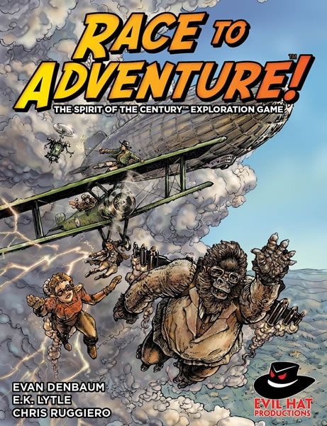 Race to Adventure: The Spirit of the Century Exploration Game - obrázek