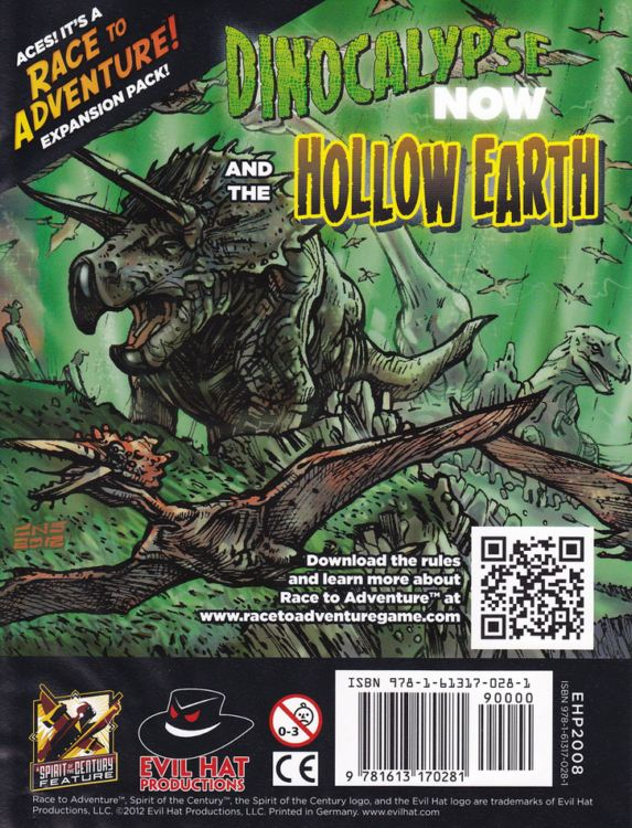 Race to Adventure! Expansion Pack: Dinocalypse Now and the Hollow Earth - obrázek