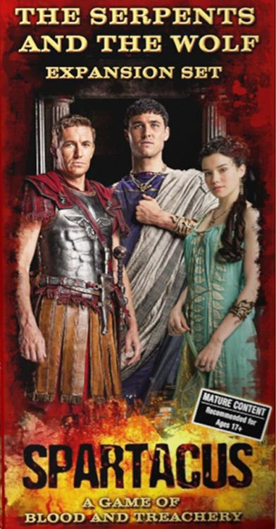 Spartacus: The Serpents and the Wolf Expansion Set - obrázek