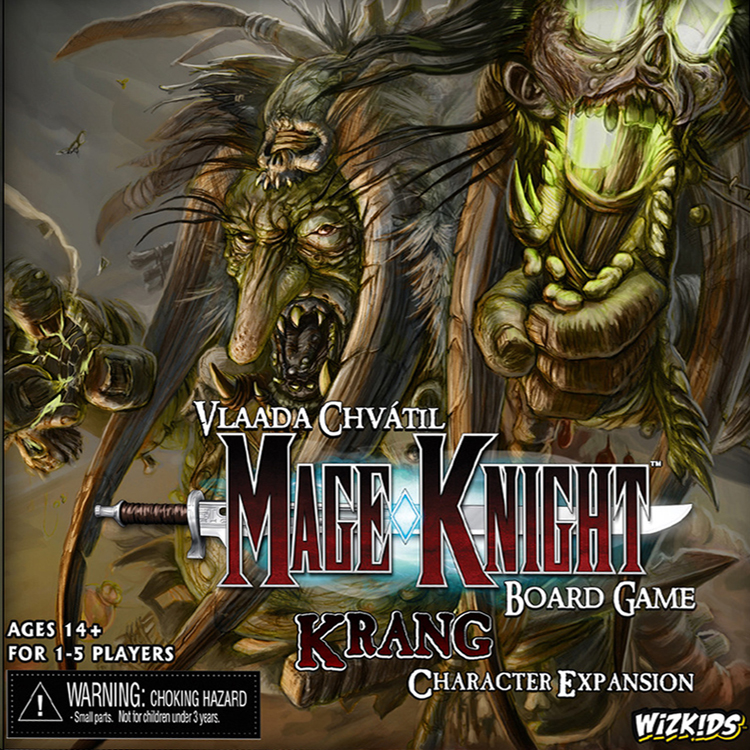 Mage Knight Board Game: Krang Character Expansion - obrázek