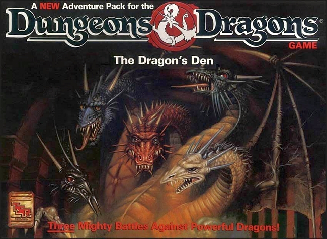 Dungeons & Dragons: The Dragon's Den - obrázek