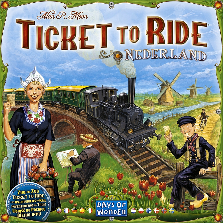 Ticket to Ride Map Collection: Volume 4 - Nederland - obrázek