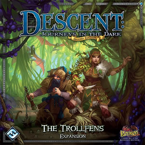 Descent: Journeys in the Dark (Second Edition) – The Trollfens - obrázek