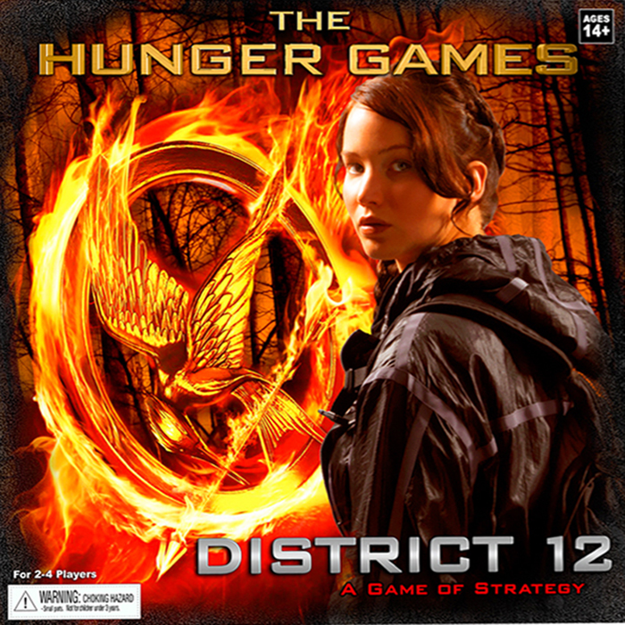 Hunger Games, The: District 12 Strategy Game - obrázek
