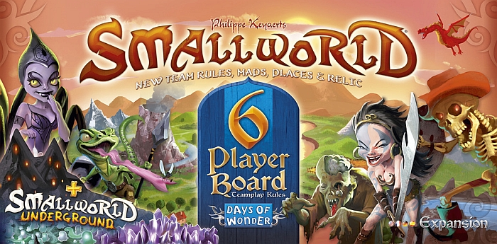 Small World: 6 Player Board - obrázek