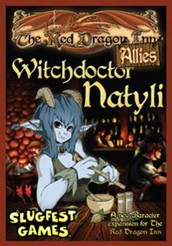 Red Dragon Inn, The: Allies - Witchdoctor Natyli - obrázek