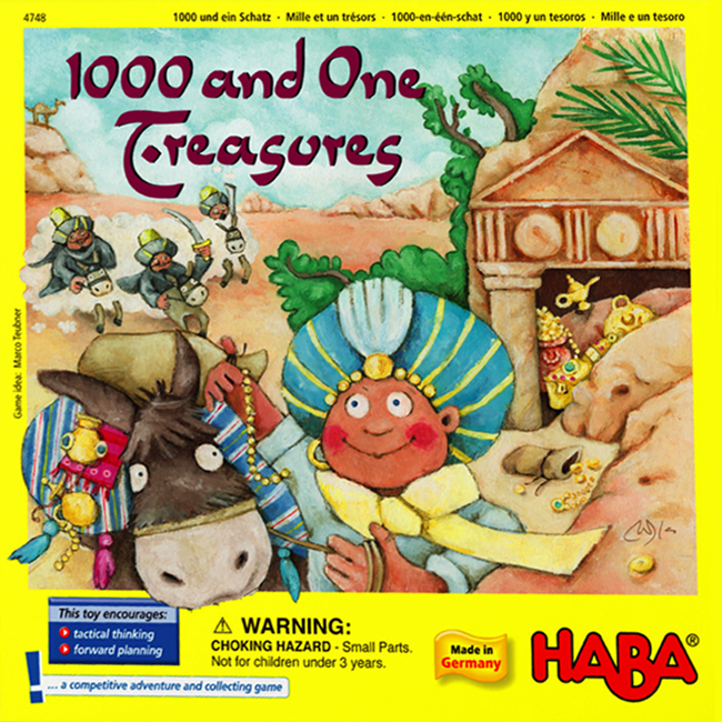 1000 and One Treasures - obrázek