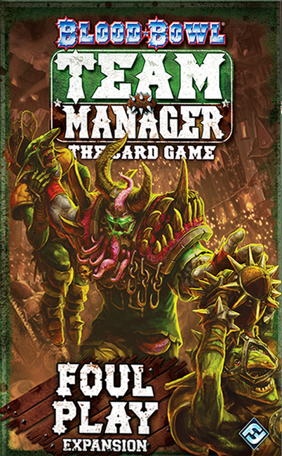 Blood Bowl: Team Manager – The Card Game – Foul Play - obrázek
