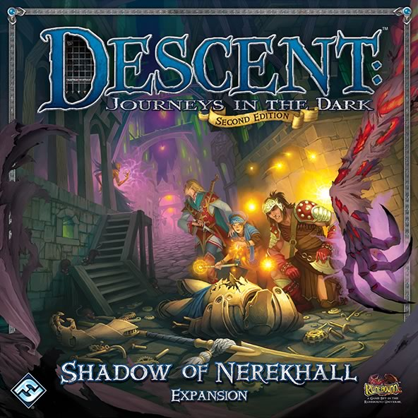 Descent: Journeys in the Dark (Second Edition) – Shadow of Nerekhall - obrázek
