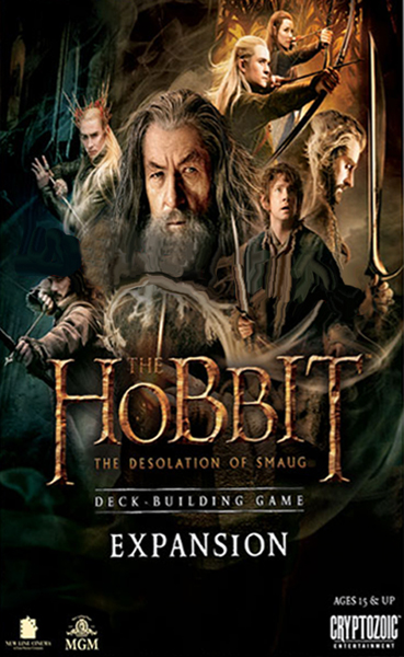 Hobbit, The: The Desolation of Smaug Deck-Building Game Expansion Pack - obrázek