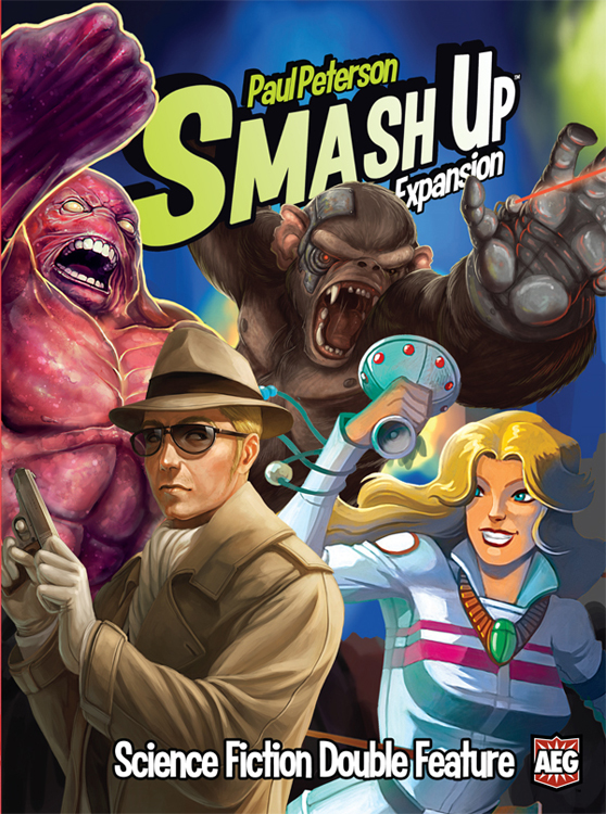 Smash Up: Science Fiction Double Feature - obrázek