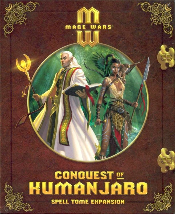 Mage Wars: Conquest of Kumanjaro – Spell Tome Expansion - obrázek