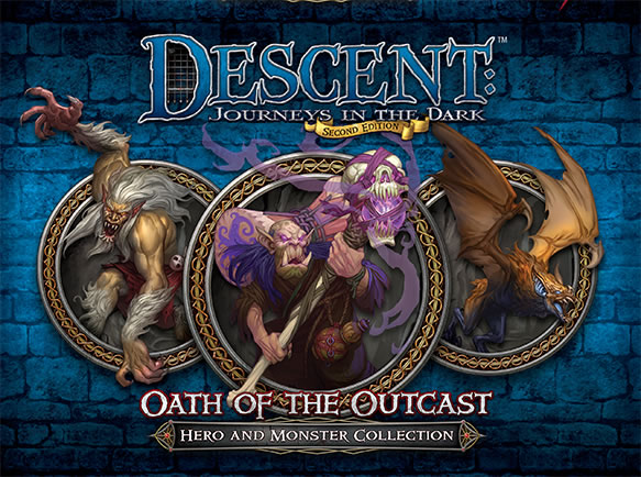 Descent: Journeys in the Dark (Second Edition) – Oath of the Outcast - obrázek
