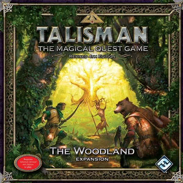 Talisman (fourth edition): The Woodland Expansion - obrázek
