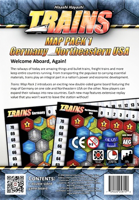 Trains: Map Pack 1 – Germany/Northeastern USA - obrázek