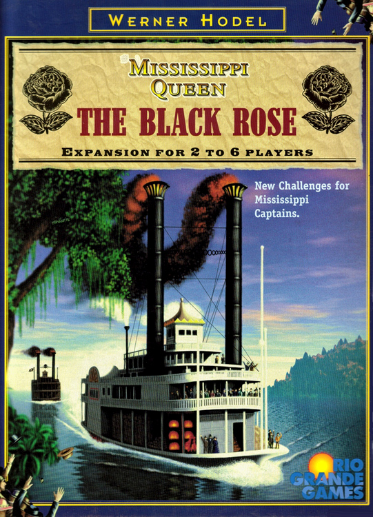 Mississippi Queen: The Black Rose  - obrázek