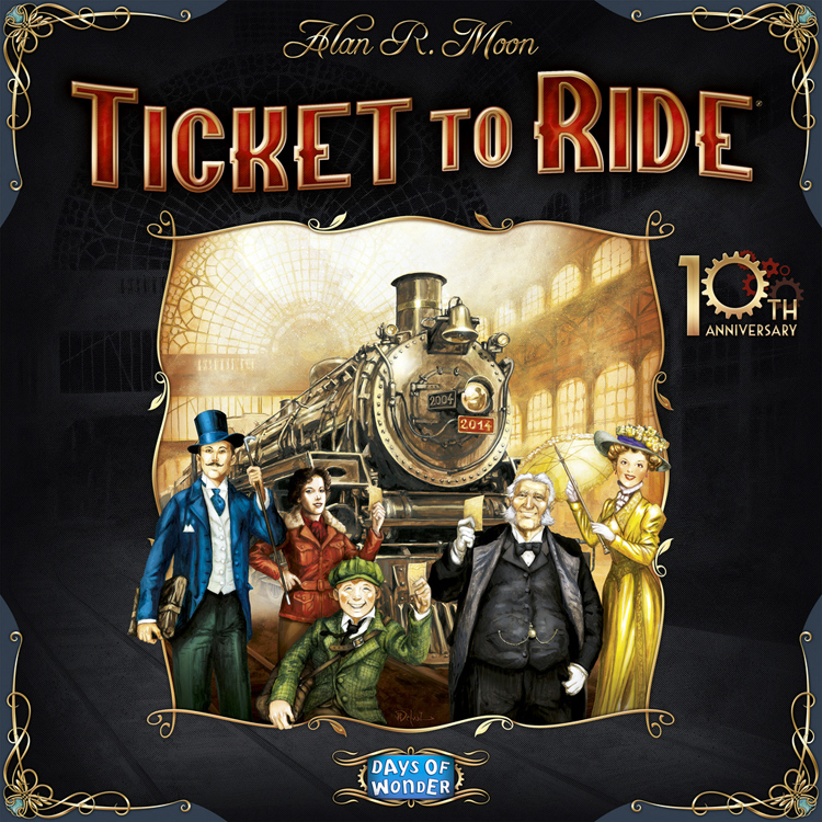 Ticket to Ride: 10th Anniversary - obrázek