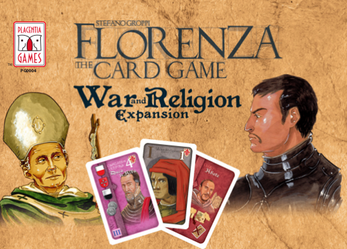 Florenza: The Card Game – War and Religion Expansion - obrázek