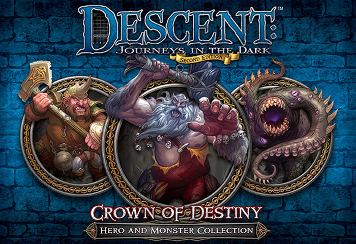Descent: Journeys in the Dark (Second Edition) – Crown of Destiny - obrázek