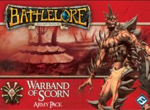 Battlelore 2.ed.: Warband of Scorn Army Pack + CZ