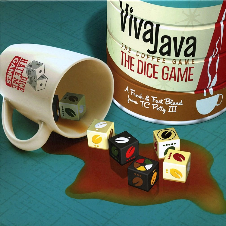 VivaJava: The Coffee Game: The Dice Game - obrázek