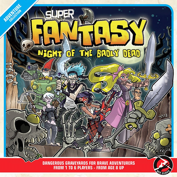 Super Fantasy: Night of the Badly Dead - obrázek