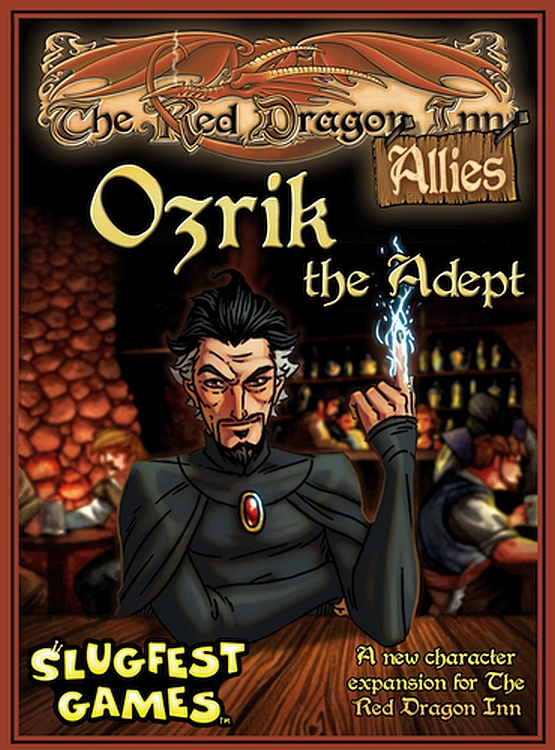 Red Dragon Inn, The: Allies – Ozrik the Adept - obrázek