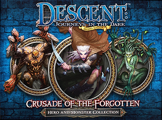 Descent: Journeys in the Dark (Second Edition) – Crusade of the Forgotten - obrázek