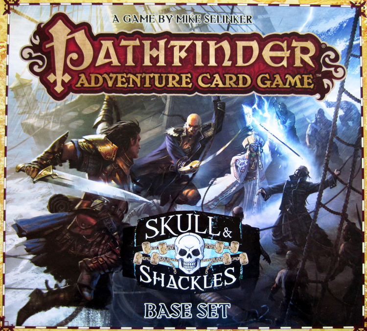 Pathfinder Adventure Card Game: Skull & Shackles – Base Set - obrázek