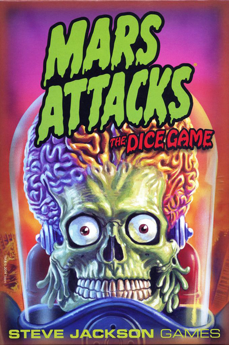 Mars Attacks: The Dice Game - obrázek