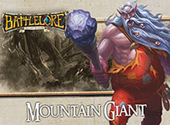 BattleLore Second Edition: Mountain Giant Reinforcement Pack - obrázek