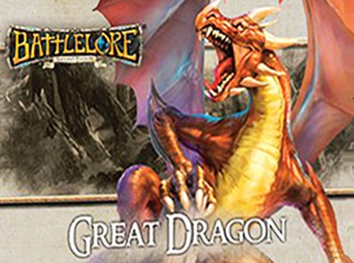 BattleLore Second Edition: Great Dragon Reinforcement Pack - obrázek